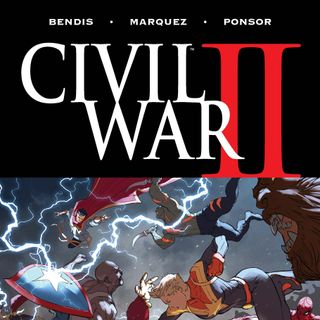 Source Material #222: Civil War II (Marvel, 2016)