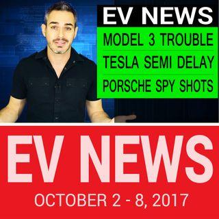 Tesla Model 3 & Semi Truck Trouble | EV News