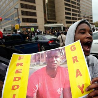 BaltimoreRiots after FreddieGray Funeral
