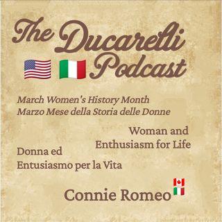 Woman and Enthusiasm for Life - Donna ed Entusiasmo per la Vita Connie Romeo AAA