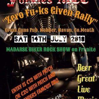 The Madarse Biker Rock Show Live at the Zero Fuc#ks givin Rally