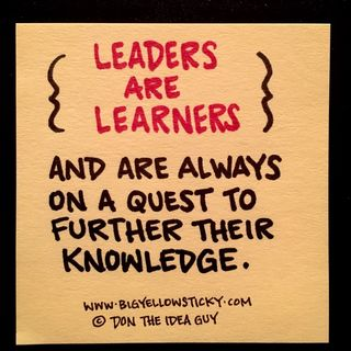 Leaders Are Learners : BYS 197