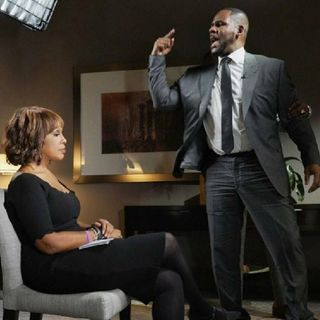 Gayle King Interview Of R Kelly Continues Plus What Gayle Was Going Thru Her Mind While R Kelly Rants