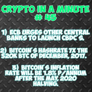 Crypto In A Minute # 45