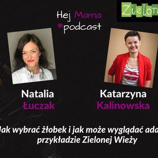 #34 - Jak wybrać żłobek i przejść przez adaptację na przykładzie Zielonej Wieży - rozmowa z Kasią Kalinowską