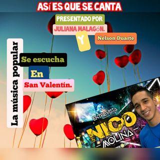 Nico Molina presenta su sencillo 'Cerré el Chuso'