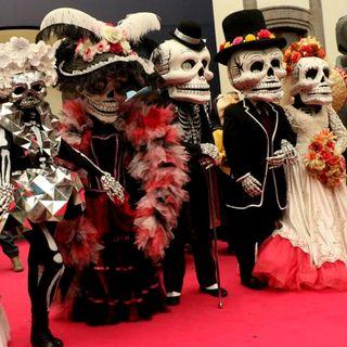 Previo a la celebración del Día de Muertos