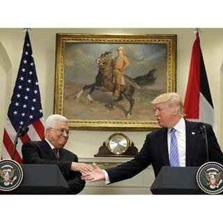 Mahmoud Abbas and DJ Trump Meet for Peace