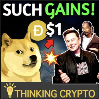 Dogecoin to $1 or Rekt City as Elon Musk & Snoop Dogg Pump Doge