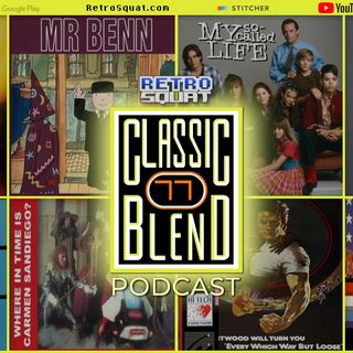 Classic Blend Podcast 77: G. I. Joe, The Brady Bunch, & Firestarter