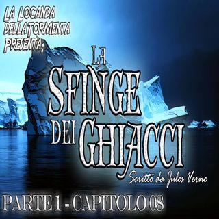 La sfinge dei ghiacci Parte 1 - capitolo 08