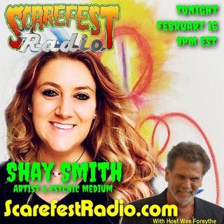 Psychic Medium Shay Smith - Scarefest Radio Redux on Filler