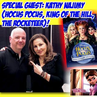 #299: Cincinnati Comic Expo Q&A with Kathy Najimy from Hocus Pocus, King of the Hill & The Rocketeer!