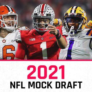 Episode 16 - Ringer's Podcast- My 2021 NFL Mock Draft - Pre Free Agency