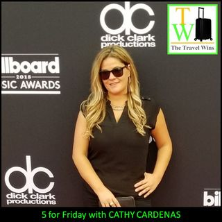 5 for Friday with Cathy Cardenas