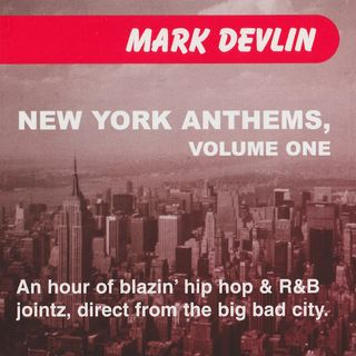 New York Anthems mix CD (2000)
