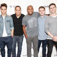 Midnight Red In Studio With Maxwell