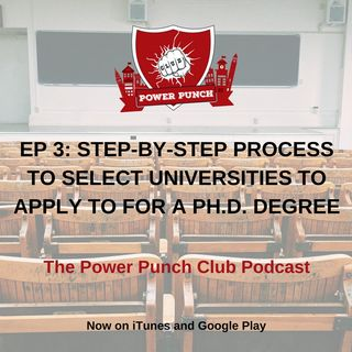 Step-by-step process to select universities to apply to for a Ph.D. degree