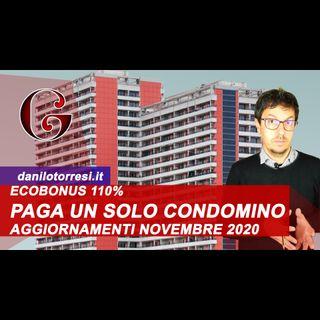 ECOBONUS 110% Appartamento in Condominio: paga un condomino gli interventi - Risposta 499 del 2020