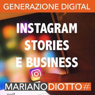 Puntata 54: Le Instagram Stories per il mondo business