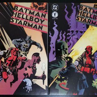 Source Material #217 Batman/Hellboy/Starman (DC & Dark Horse 1999)