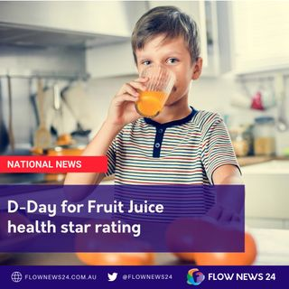 D-Day for Fruit Juice Health Rating