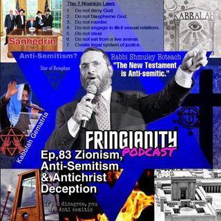 Ep,83 ZIONISM, ANTI-SEMITISM & ANTICHRIST DECEPTION