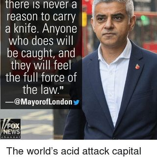 Even the Jokes Come True: Mayor of Londonistan Implements Knife Control