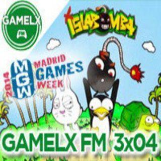 GAMELX FM 3x05 - Isla Bomba + Madrid Games Week
