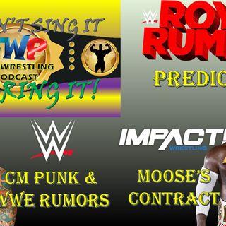 Royal Rumble Predictions / CM Punk Rumors