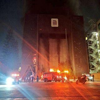 Deja incendio de edificio del STC, un fallecido