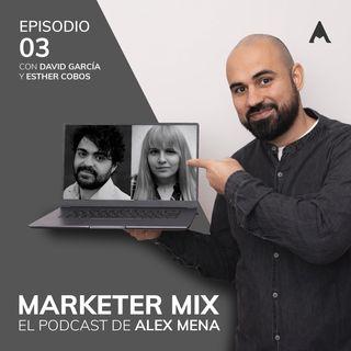 Episodio 3 - Legalidad Digital con David García y Diseño gráfico con Esther Cobos