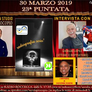 Radiografia Scio' - N.23 del 30-03-2019