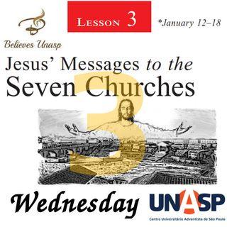Sabbath School Jan-16 Wednesday