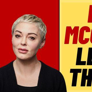 ROSE MCGOWAN Supports LARRY ELDER, Leaves The Left
