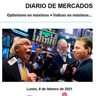 DIARIO DE MERCADOS Lunes 8 Febrero