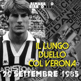 29 settembre 1985 - Il lungo duello col Verona