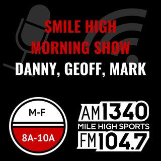 Monday May 20: Hour 2 - Geoff Smile High BroDown Setup, BroDown Knoight R Stevens CJ Cain, The Villain, Smile High Superhero, Ryan Stevens