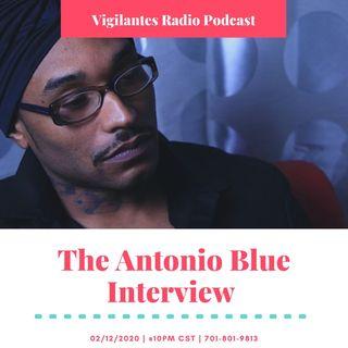 The Antonio Blue Interview.