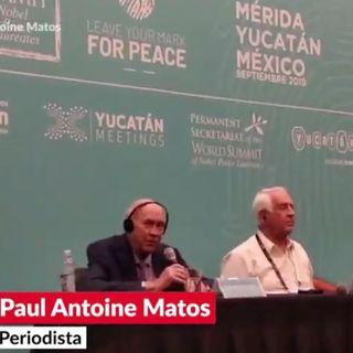 Cumbre de acción climática en Nueva York, la otra casa blanca de Angélica Rivera, Cumbre Mundial de Premios Nobel de la Paz y más...
