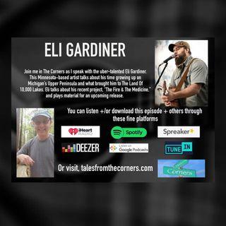 Singer Songwriter Eli Gardiner