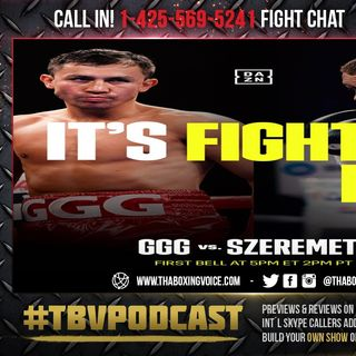 ☎️Gennady Golovkin vs Kamil Szeremeta🔥Live Fight Chat For Golovkin's IBF Title❗️