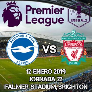 Brighton and Hove Albion vs Liverpool en VIVO