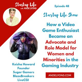 How a Video Game Enthusiast Became an Advocate and Role Model for Women and Minorities in the Gaming Industry