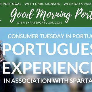 Portuguese Experiences   On Good Morning Portugal! with Spartan FX