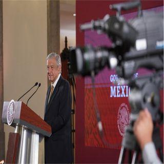 Promete AMLO investigar amenazas a periodistas