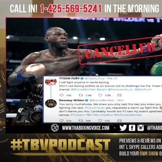 🚨Deontay Wilder Goes In on Tyson Fury after WBC Confirm no rematch 😱