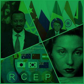 A Etiópia e a o conflito no Trigé; o maior Acordo Comercial do Mundo; a Décima Segunda Cúpula dos BRICS e o Centenário de Clarice Lispector