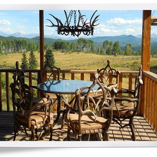 HIGH END OUTDOOR FURNITURE | Lazy CF Ranch