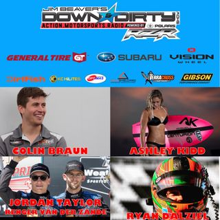 #335 Ashley Kidd, Ryan Dalziel, Jordan Taylor, Colin Braun, & Renger van der Zande On Air!